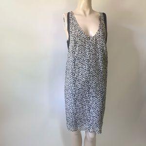 J. Crew 100% Silk Floral Sleeveless Shift Dress